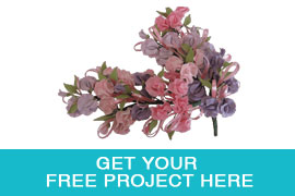 Free Sugar Flower Project