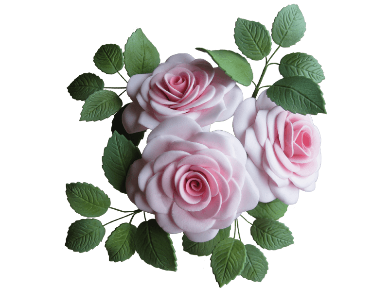 Sugar Gum Paste Large Rose