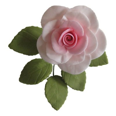 Single Traditional Sugar Flower Rose