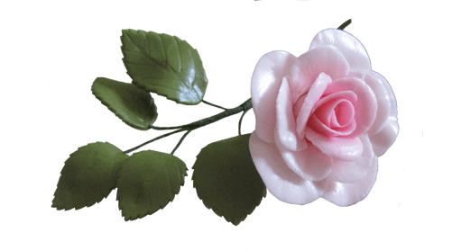Sugar Gum Paste Traditional Rose