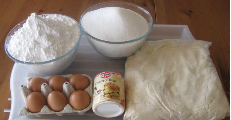 Marzipan Ingredients