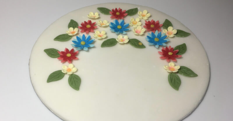 How To Make Fondant Flowers For Beginners Wow, i am in love with this simple but stunning cake. how to make fondant flowers for beginners